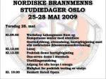 nordiske brannmenns studiedager oslo 25 28 mai 20096