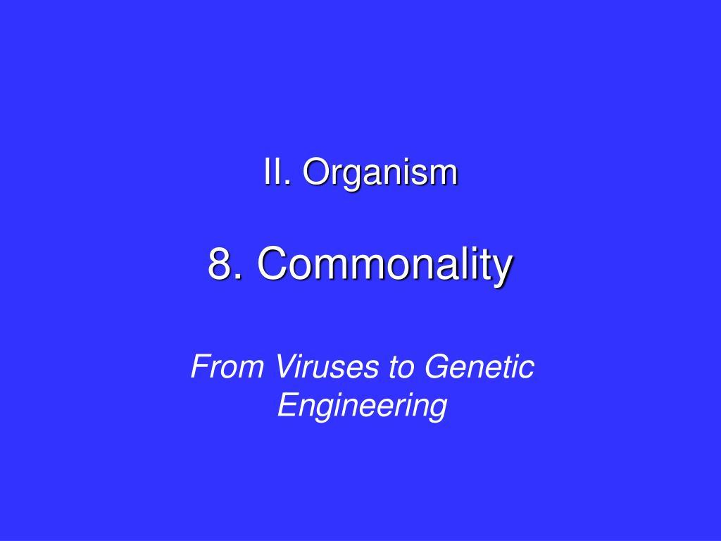 8 commonality l.