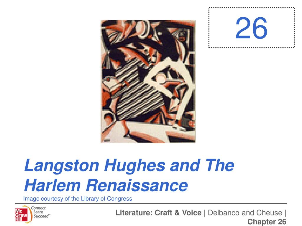 langston hughes and the harlem renaissance image courtesy of the library of congress l.