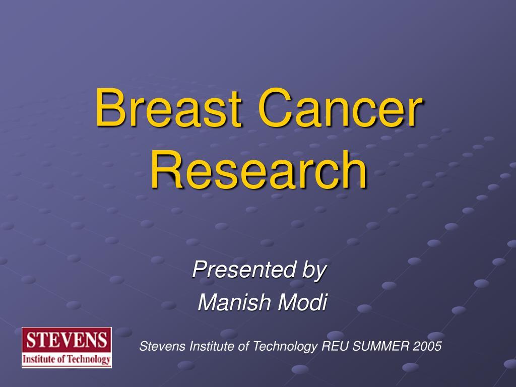 breast cancer research l.