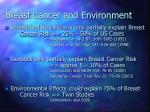 breast cancer and environment