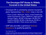 the oncotype dx assay is widely covered in the united states