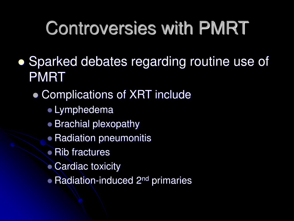 Controversies with PMRT