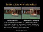 index color web safe palette