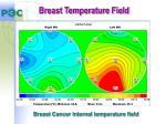 breast temperature field