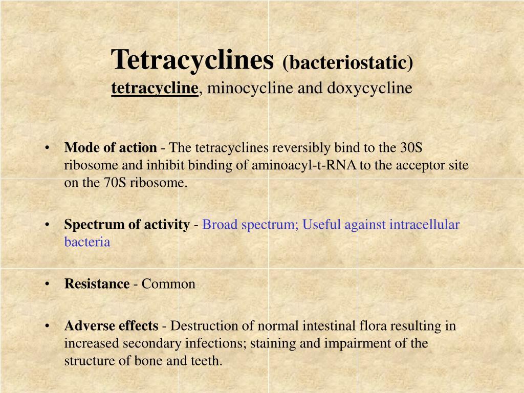 Tetracyclines
