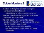 colour monitors 2