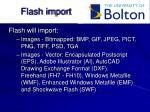 flash import