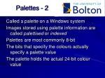 palettes 2