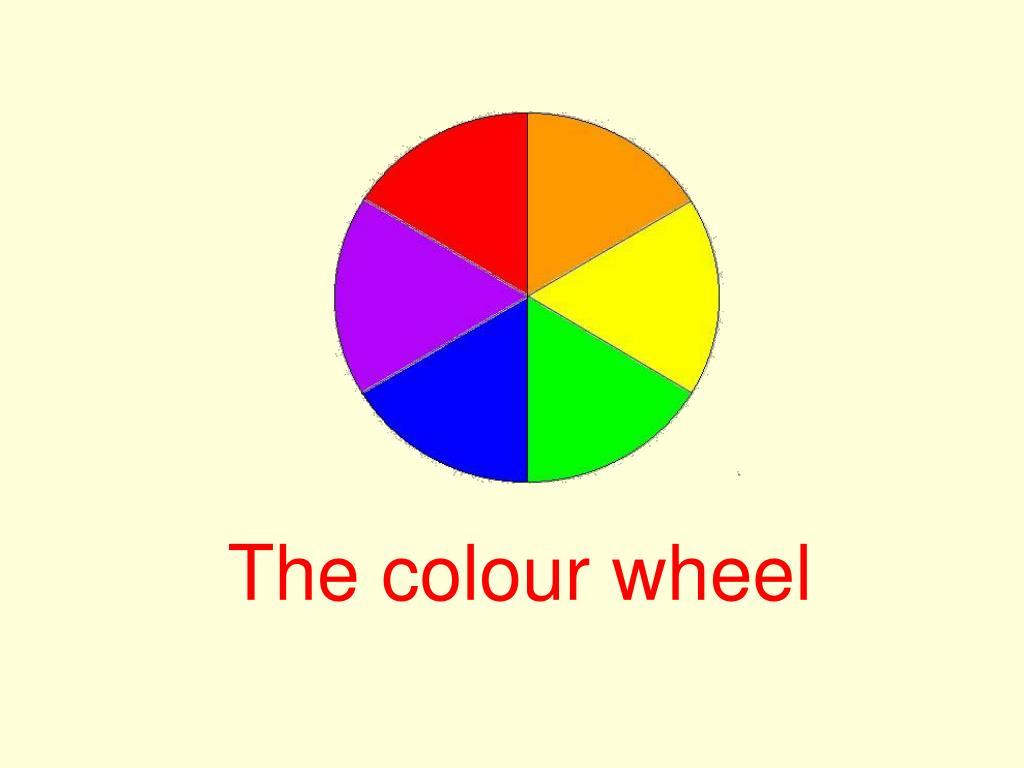 the colour wheel l.