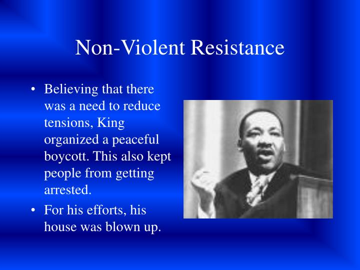PPT - The Civil Rights Movement PowerPoint Presentation ...Non Violent Resistance