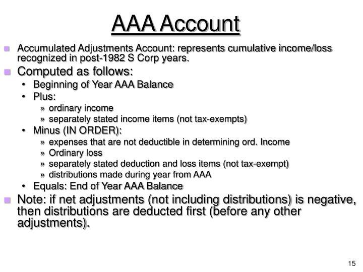 AAA Account
