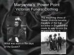 maryanne s power point victorian funeral clothing