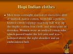 hopi indian clothes