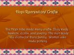 hopi recreation crafts
