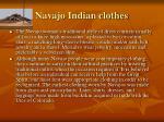navajo indian clothes