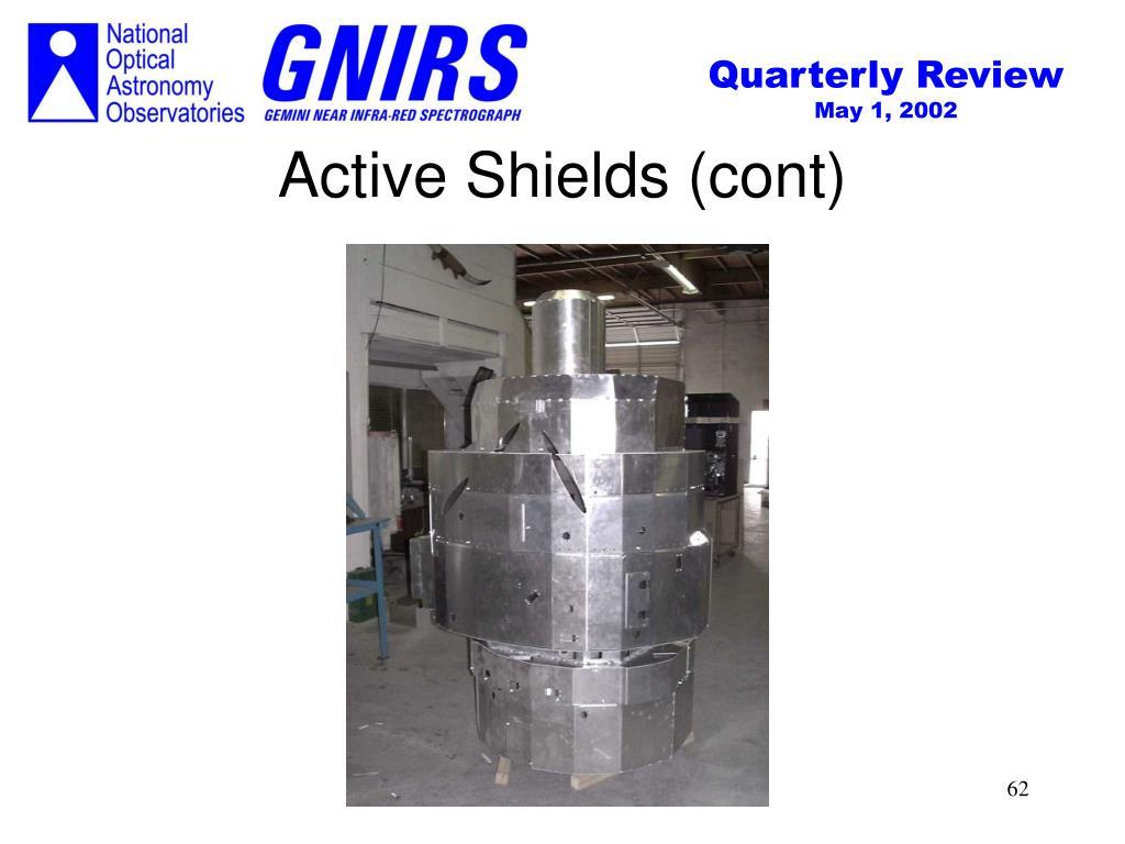 Active Shields (cont)