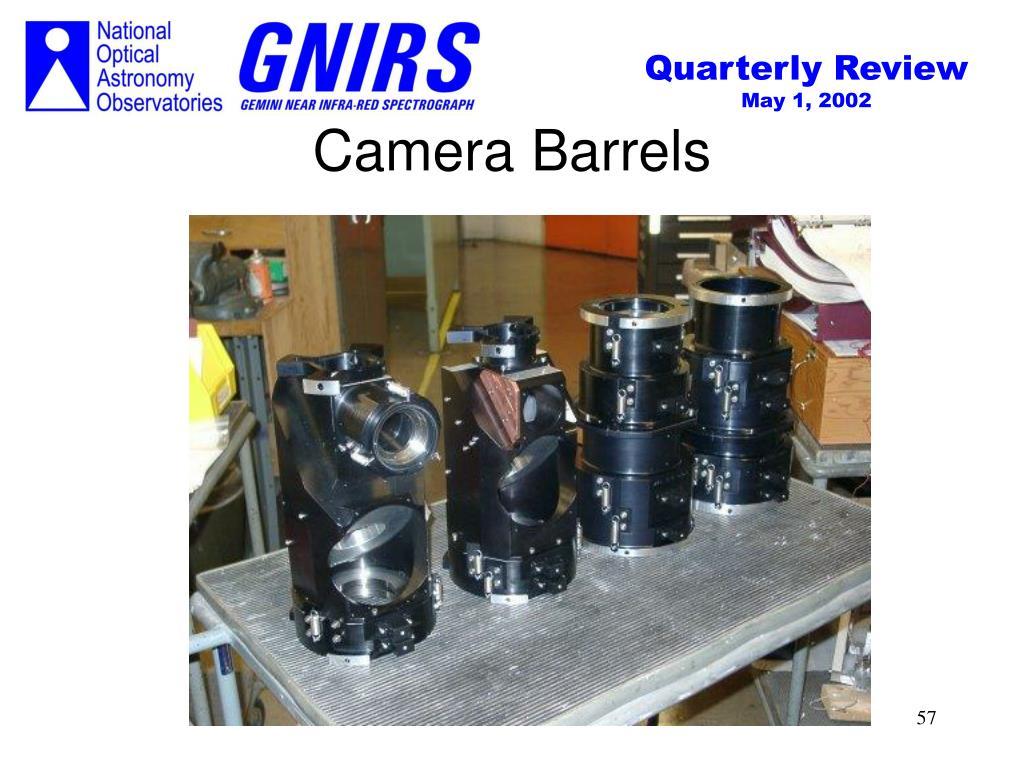 Camera Barrels
