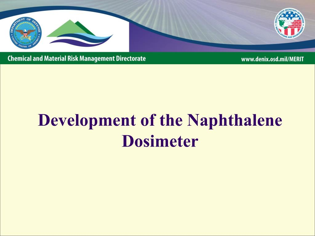 Development of the Naphthalene Dosimeter
