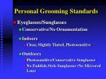 personal grooming standards14