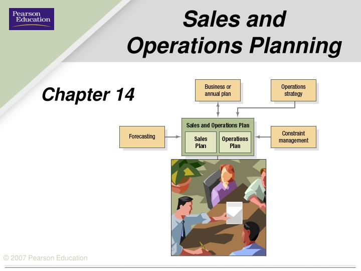 sales and operations planning n.