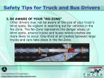 safety tips for truck and bus drivers1
