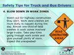 safety tips for truck and bus drivers2