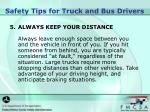 safety tips for truck and bus drivers3