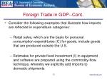 foreign trade in gdp cont12