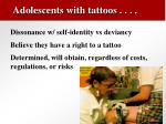 adolescents with tattoos28