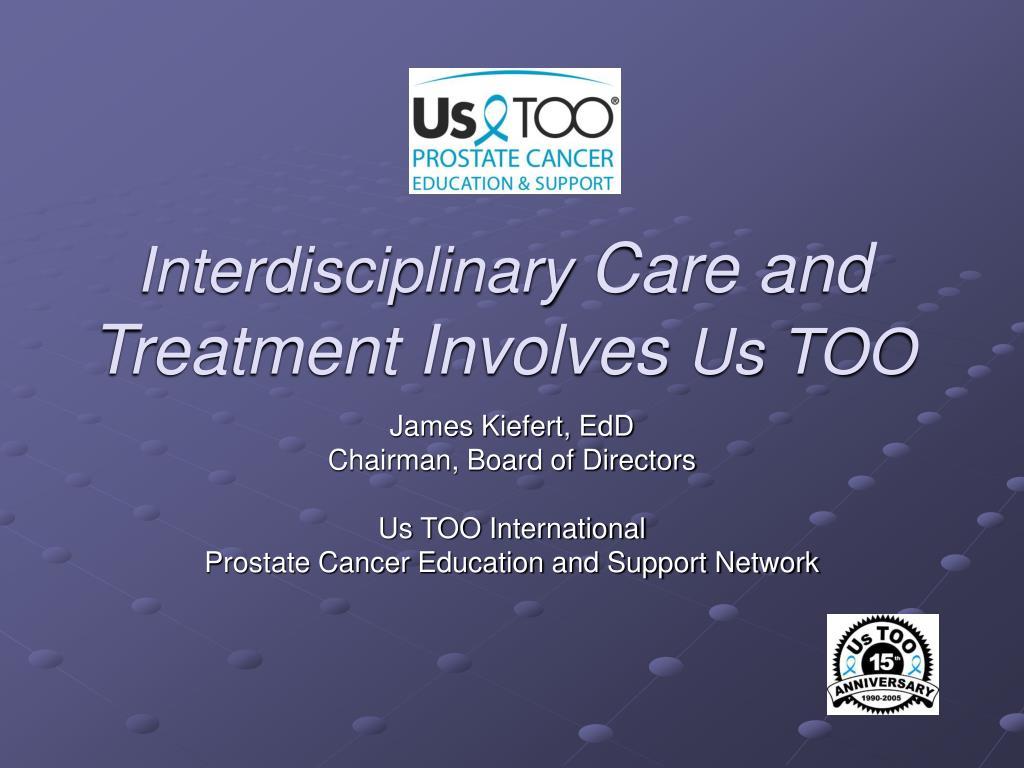 interdisciplinary care and treatment involves us too l.
