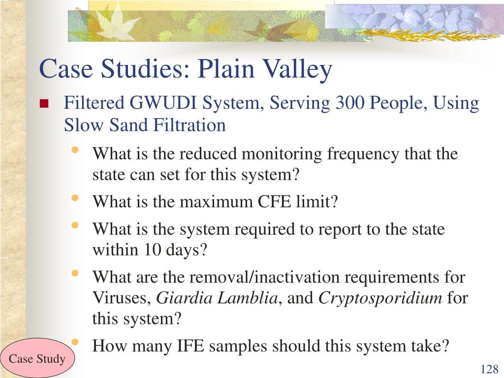 Case Studies: Plain Valley