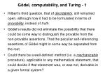 g del computability and turing 1