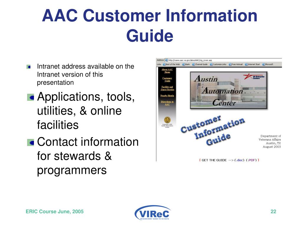 AAC Customer Information Guide