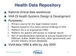 health data repository