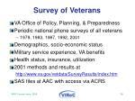 survey of veterans