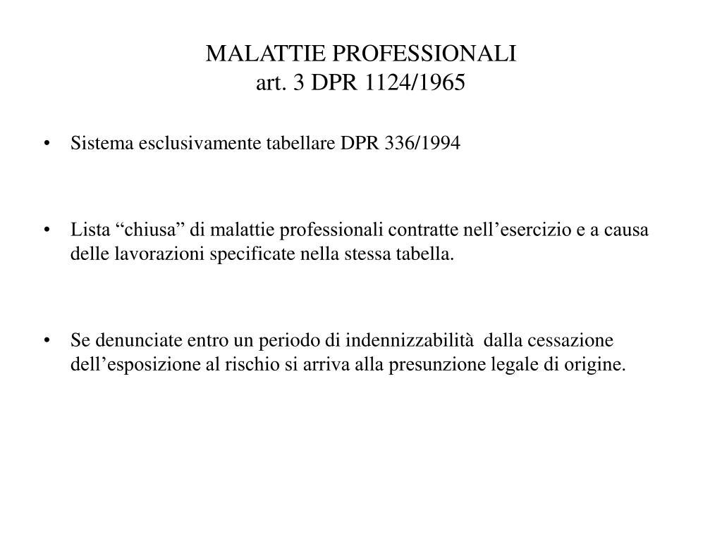 PPT - DECRETO LEGISLATIVO 23 GIUGNO 2003 N° 195 CORSO DI