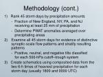 methodology cont