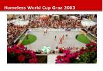 homeless world cup graz 2003