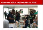 homeless world cup melbourne 200819