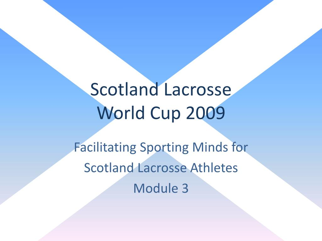 scotland lacrosse world cup 2009 l.