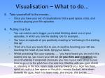 visualisation what to do20