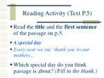 reading activity text p 5