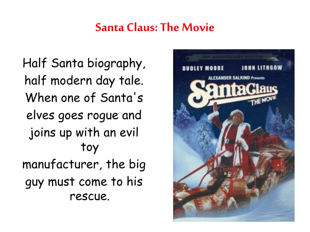 santa claus the movie l.