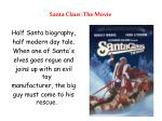 santa claus the movie
