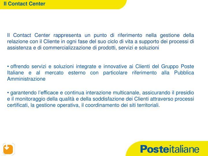 Il Contact Center