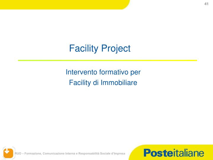 Facility Project