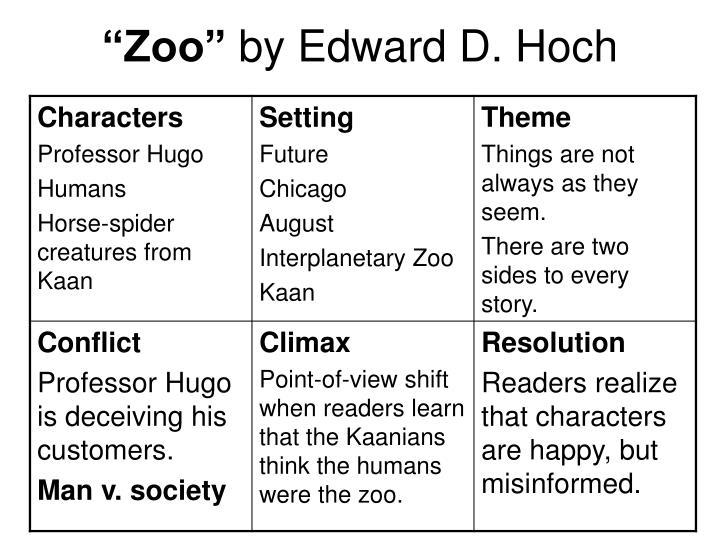 zoo by edward hoch pdf