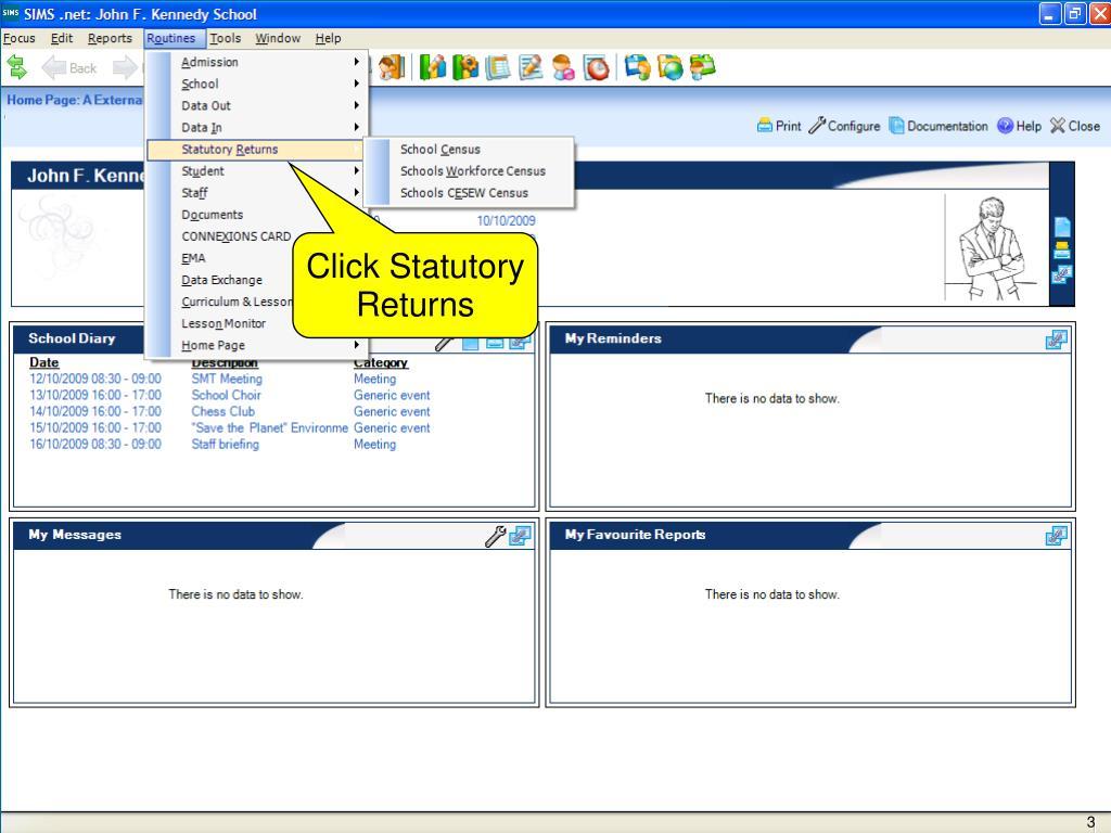 Click Statutory Returns