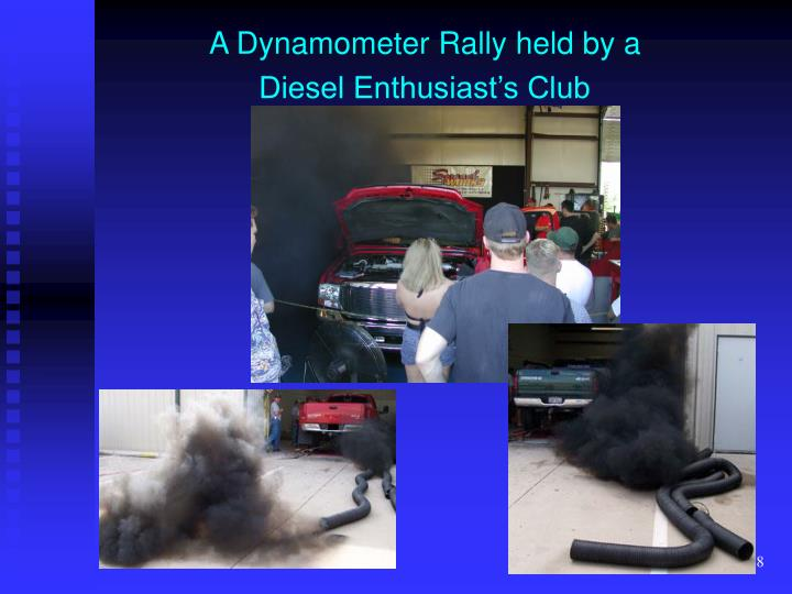 A Dynamometer Rally held by a